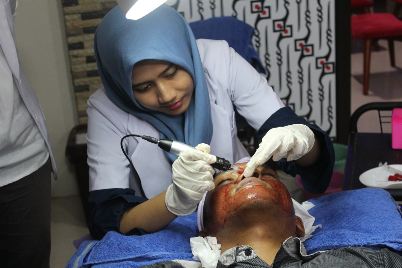 treatment peeling oleh dokter armina skincare